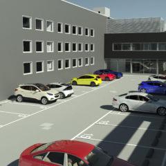 parcheggio alto